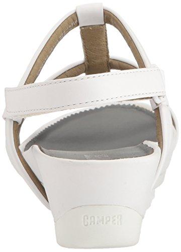 Micro Womens Micro Micro Womens K200339 K200339 Sandal Sandal White White Womens K200339 Heeled Heeled Camper Camper Heeled Camper rrxfq8A