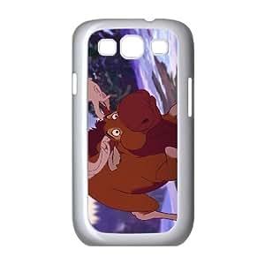 Samsung Galaxy S3 9300 Cell Phone Case White Disney Brother Bear 2 Character Kata Aspiv