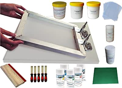 Techtongda Screen Printing Kit Bundle