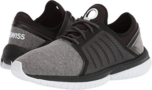 (K-Swiss Men's Tubes Millennia CMF Cross Trainer, Black/White, 9.5 M US)