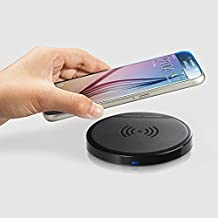 Wireless Charger, EReach Wireless Charging Pad for Galaxy S7/S7 Edge/S6/S6 Edge Plus/S6 Edge/ Note 5, Nexus 4/5/6/7 (2013), Lumia 920/950, MOTO Droid Turbo 2, All Qi-Enabled Device