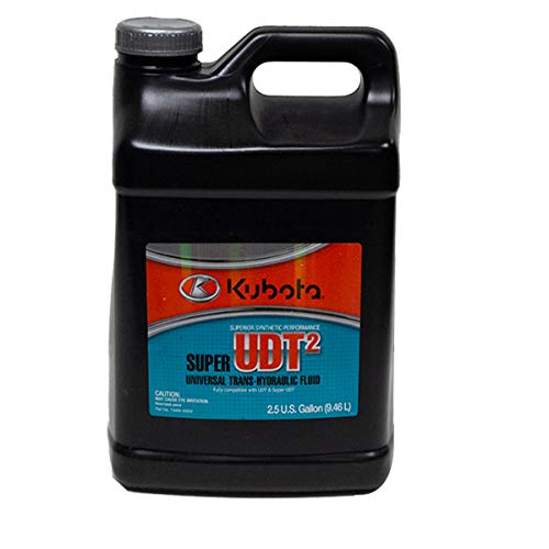 Kubota Genuine Tractor 2.5 Gallon UDT2 Transmission Hydraulic Oil 70000-40202