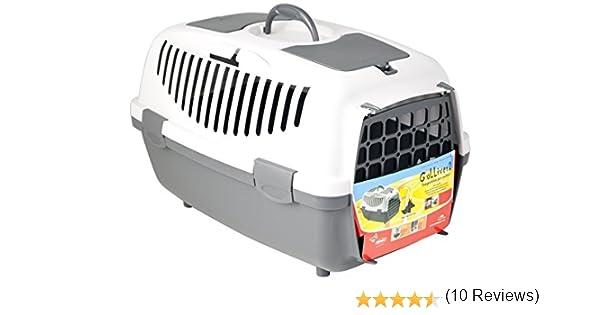 Transportin para perros y gatos Gulliver TRIXIE modelos 1 2 y 3 puerta de plástico: Amazon.es: Productos para mascotas