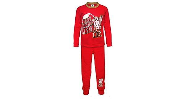 Liverpool FC - Pijama oficial para niño - Rojo: Amazon.es: Ropa y accesorios
