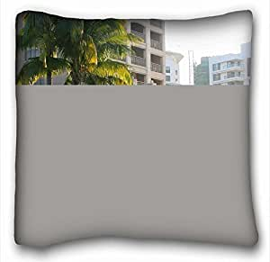 Generic Personalized City Custom Zippered Pillow Case 16x16 inches(one sides) from Surprise you suitable for Full-bed