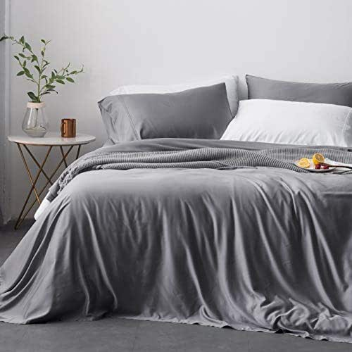 Oasis Fine Linens Island Bamboo Collection (Queen, Storm)