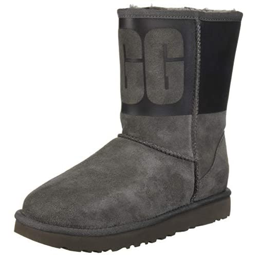 UGG Women's W Classic Short Rubber Fashion Boot - 41eRgGXGpPL. SS500 - Getting Down Under