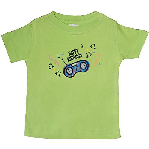 inktastic - Birthday Music Baby T-Shirt 18 Months Key Lime 2e0
