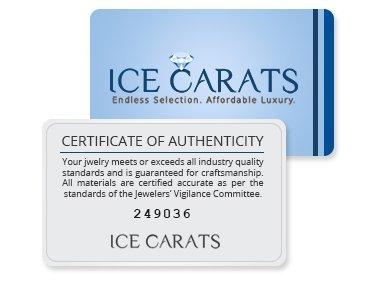 Icecarats Créatrice De Bijoux 14K Paix Poli Signe Cercle Pendentif