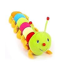 Lata Multicolor Cute Soft Toy Caterpillar 100 Cm - Multi Color
