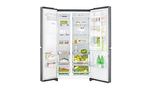 Side By Side Kühlschrank Leise : Lg electronics gsj 760 pzuz side by side kühlschrank a 376 kwh
