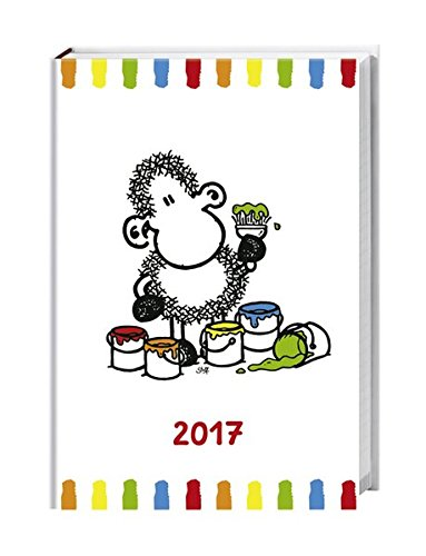 sheepworld 17-Monats-Kalenderbuch A6 - Kalender 2017: 17 Monate. Von August 2016 bis Dezember 2017.