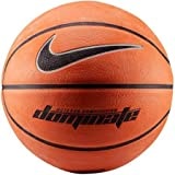 Nike Mens Dominate Basketball Amber/Black/Metallic Platinum, Size Full (29.5', Ages 13+)