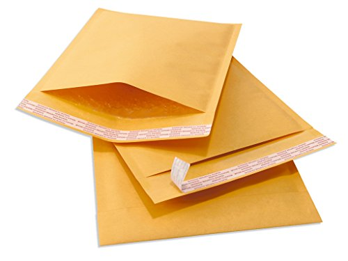 "10.5"" X 15"" (10 1/2 x 15) #5 Kraft Bubble Mailers Padded Shipping Envelopes 10 Pack free shipping"