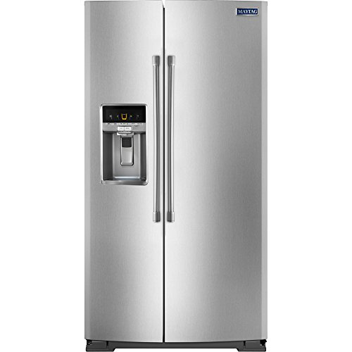 maytag-msc21c6mdm-206-cu-ft-stainless-steel-counter-depth-side-by-side-refrigerator-energy-star