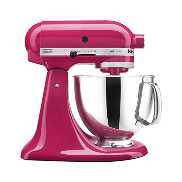 KitchenAid KSM150PSCB Artisan Series 5-Qt. Stand Mixer with Pouring Shield - Cranberry 1