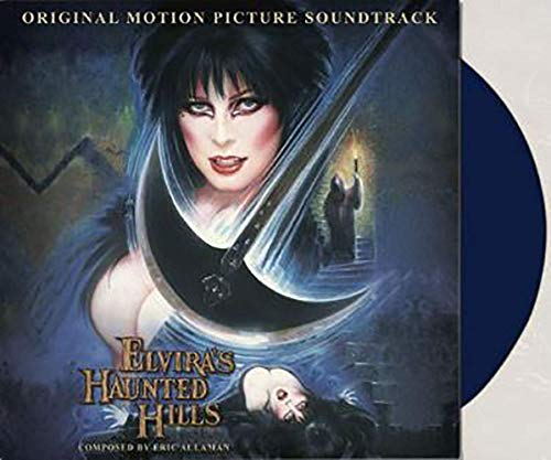 Elvira's Haunted Hills (Original Motion Picture Soundtrack) - Exclusive Limited Edition Dark Blue Colored Vinyl LP #/300 [Condition-VG+NM]