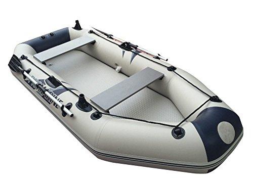 984feet-3m-Fishing-PVC-Boat-Inflatable-Boat-Tender-Raft-Dinghy-Floor-Gray-Item212075