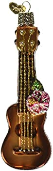 Old World Christmas Ukulele Glass Blown Ornament