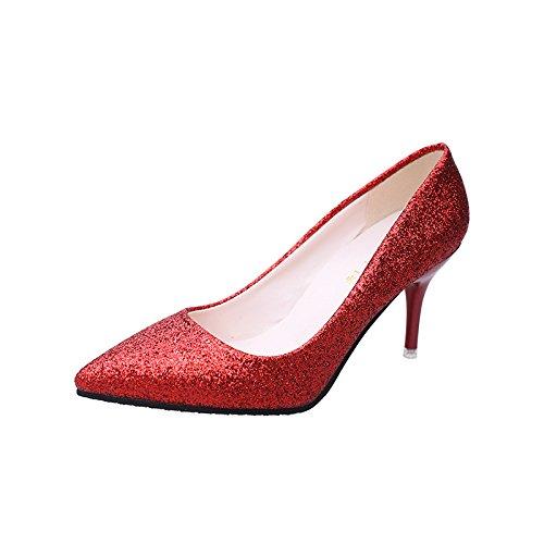 Talons Sur Footwear Hauts La Des Fminine Fine Mode Vido Chaussures Avec fUzSFqqx