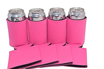 Premium Blank Can Coolers Sleeves Soft Drink Collapsible Insulator Coolers