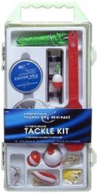South Bend KIT-90 Fishing Tackle Kit, 137-Piece