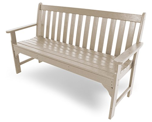 POLYWOOD Vineyard 60-Inch Bench, Sand