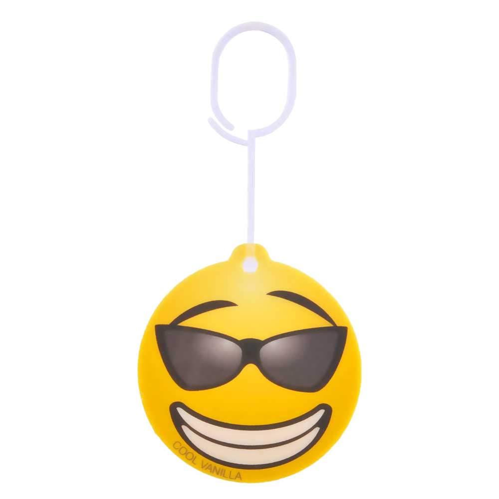 TOPPEN SWEDEN Car Air Freshener Emoticon Cool Vanilla