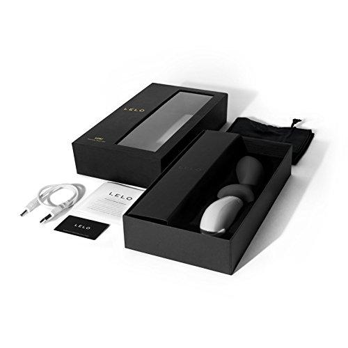 LELO LOKI Luxury Vibrating Prostate Massager for Men, Obsidian Black