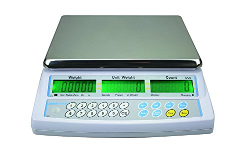 AE ADAM CBC 30M Counting Scale, 30 kg Capacity, 10 g Readability