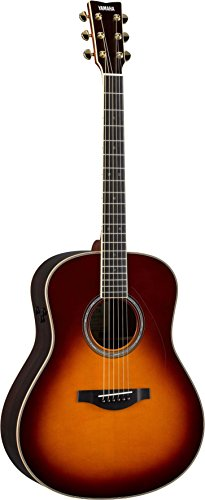 Yamaha L-Series Transacoustic Guitar - Dreadnought, Brown Sunburst (Best Mid Range Acoustic Guitar)