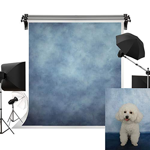 (Kate 6.5x10ft/2x3m(W:2m H:3m) Photo Backdrops Photographers Retro Solid Light Blue Background Photography Props Studio Digital Printed)