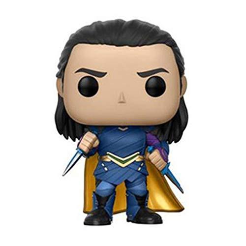 GYH Modelo - Funko 13767-PX-1U4 Marvel Heroes Pop Bobble Thor Ragnarok Loki (#) (Color A)
