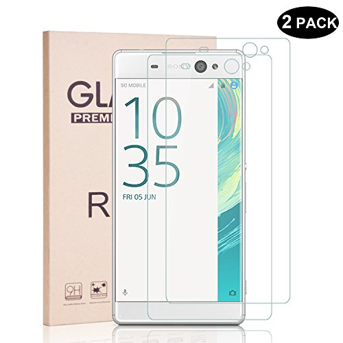 rbeik-9h-hardness-tempered-glass-screen-protector-for-sony-xperia-xa-ultra-crystal-clear-2-pack