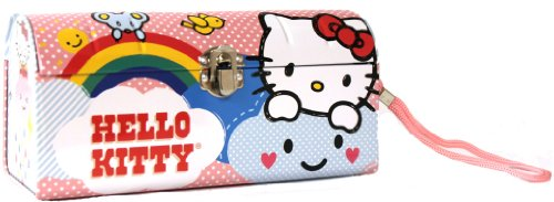 Hello Kitty Clutch Purse Star Metal Tin Box New Gifts Toys 690917-2