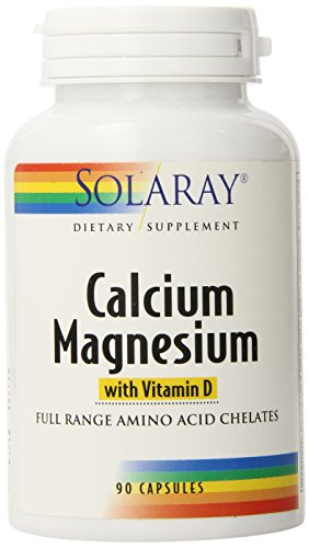 Solaray Cal-Mag with Vitamin D Capsules, 90 Count (Solaray Cal Mag Citrate With Vitamin D3)