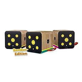 Bluetooth-Lautsprecher für Kinder, SD-Karten, Bambus-Gehäuse