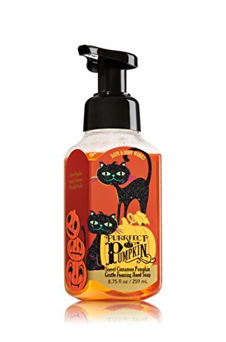 Halloween Soap - Bath & Body Works Gentle Foaming Hand Soap Purrfect Pumpkin 2016