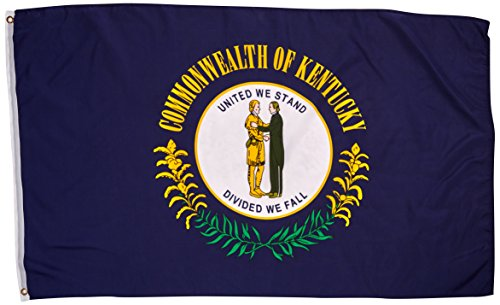 Kentucky State Flag 3x5 3 x 5 Brand NEW LARGE Banner