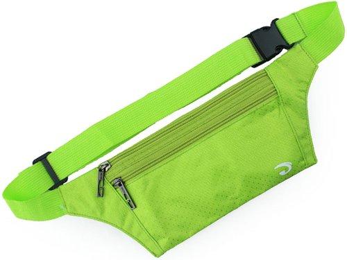 Zenness super caliente Deportes Correr paquete de la cintura (caqui) verde