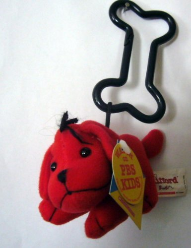 Clifford the Big Red Dog Plush Backpack Clip 4 by Sidekicks