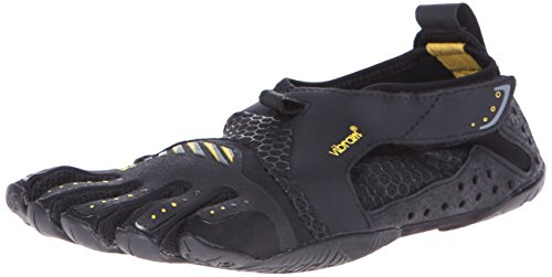 Vibram Women's Signa Water Shoe, Black/Yellow,36 EU/6 M US