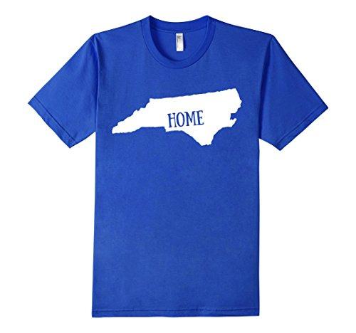 Men's Home State American Apparel North Carolina T-Shirt XL Royal Blue