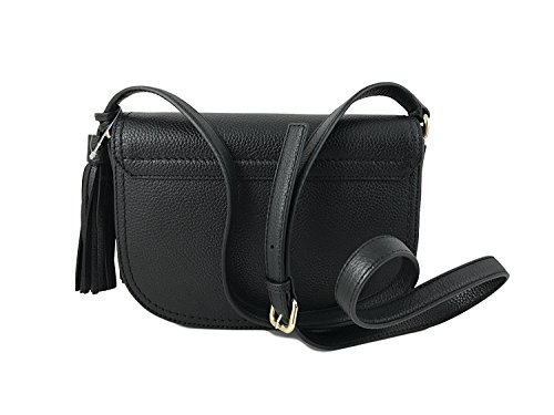 York New Black bag Street Spade in Mccall Kate Crossbody Adelaide Leather w6qHF5E