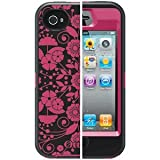 OtterBox Defender Series Case & Holster for Apple iPhone 4 / 4S - Studio Collection - Perennial