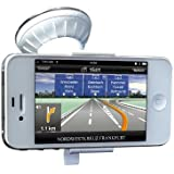 Just Mobile Xtand Go Windshield Window Dash Mount Phone Holder for iPhone 4 4S 5, White