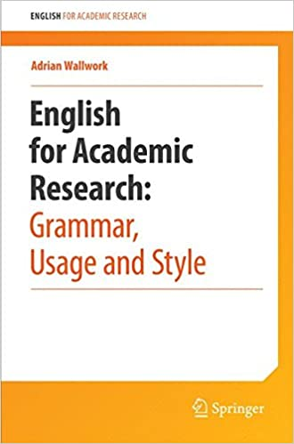 English For Academic Research: Grammar, Usage And Style: Usage, Style, And Grammar Descargar Epub Ahora