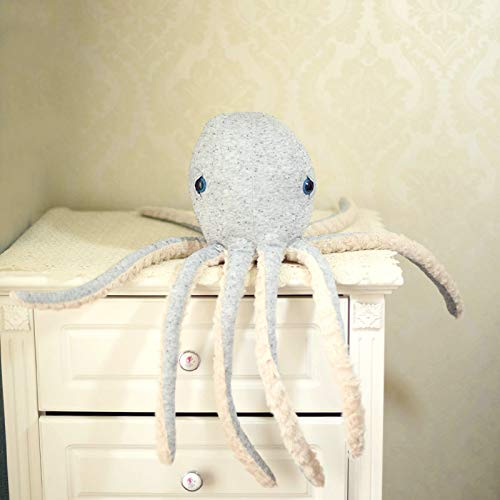 WATOP Stuffed Animals - Teddy Bears | 50-70cm cuoctopus Whale Dolls Stuffed Toys Baby Pillow Cushion Sofa Room Decor Toys for Kids Gift Children Octopus (60cm Octopus-)