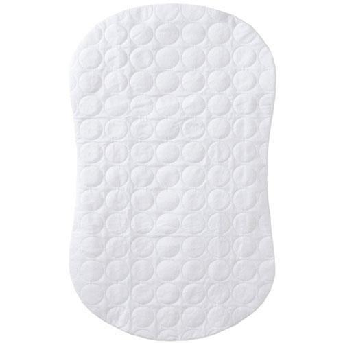 Halo Innovations Bassinest Swivel Sleeper Mattress Pad Waterproof Polyester, White 10725
