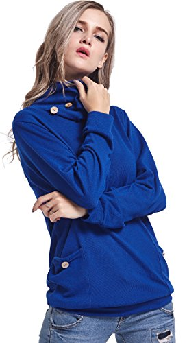 BESUMA Womens Sleeve Button Pockets product image